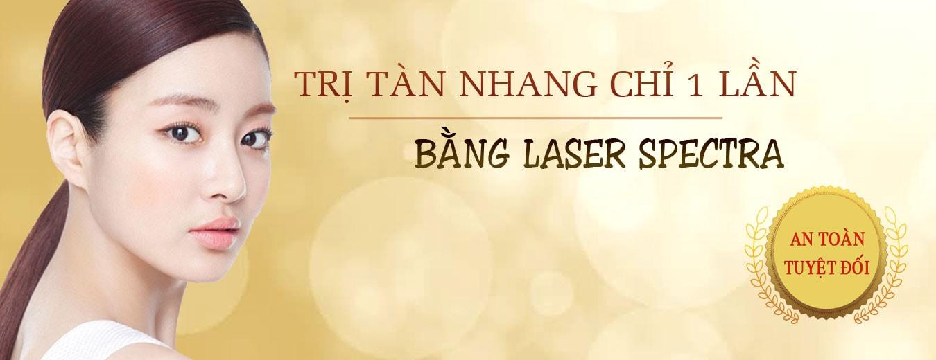 tham my nguyen du sai gon Điều trị tàn nhang Laser Spectra